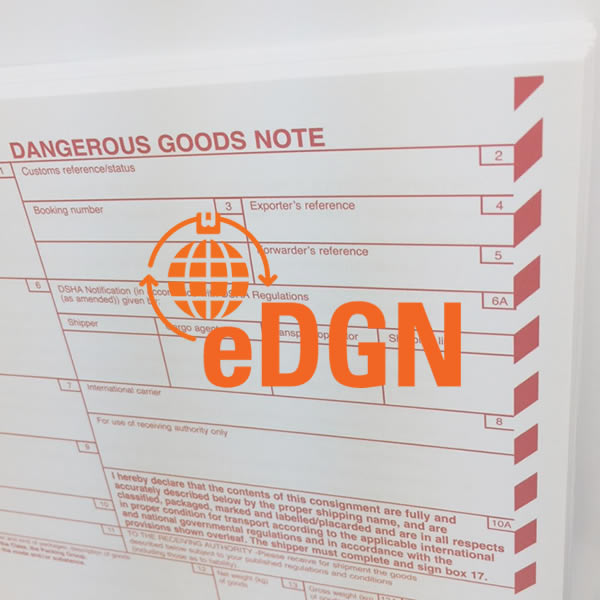 Free dangerous goods note tool